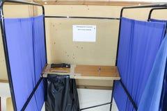 Grieken stemmen in bailout referendum royalty-vrije stock fotografie