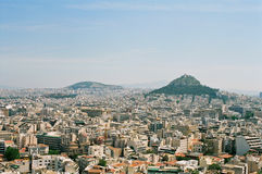 Griekenland, Athene. Stock Foto's