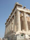 Griekenland, Athene, Parthenon in Akropolis royalty-vrije stock foto