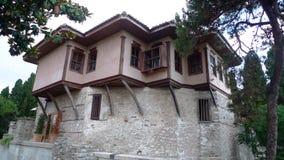 In Griekenland, de geschiedenis van het Ottomaneherenhuis dat hij heeft gebouwd Royalty-vrije Stock Foto's