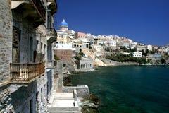 Griekenland, eiland Syros stock afbeelding
