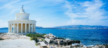 Griekenland-Kefalonia Argostoli - St Theodore Lantern royalty-vrije stock fotografie