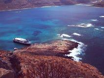 Griekenland - Kreta - Gramvousa Royalty-vrije Stock Fotografie