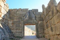Griekenland, Mykines, Micene, stock afbeeldingen
