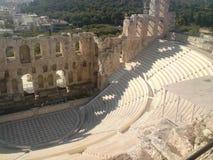 Griekenland - Pantheon - Athena Royalty-vrije Stock Afbeeldingen