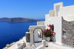 Griekenland, Santorini Stock Afbeeldingen