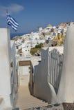Griekenland, Santorini, Oia Stock Afbeeldingen