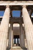 Griekenland, Tempel van Hephestus (Thission) Royalty-vrije Stock Afbeeldingen