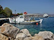 Griekenland, tolo-in de haven Stock Fotografie