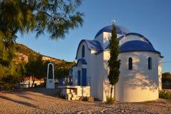 Griekenland, tolo-Kerk Stock Afbeelding