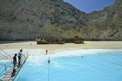 Griekenland, Zakynthos stock afbeeldingen