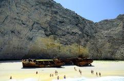 Griekenland, Zakynthos stock afbeelding