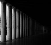 Grieks Agora van Athene Stock Afbeelding