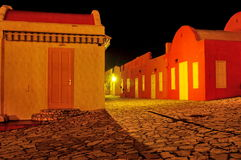 Grieks dorp royalty-vrije stock foto