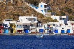 Grieks dorp stock foto