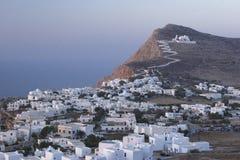 Grieks dorp Stock Foto's