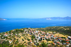 Grieks Dorp Royalty-vrije Stock Foto's
