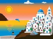 Grieks eiland Royalty-vrije Stock Foto