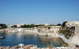 Grieks Eiland Korfu, stad Kerkyra, Griekenland royalty-vrije stock foto's