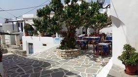 Grieks Eiland Paros, Marpissa-Dorp Royalty-vrije Stock Fotografie