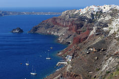 Grieks eiland Santorini Royalty-vrije Stock Afbeeldingen