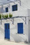 Grieks huis royalty-vrije stock afbeelding