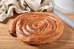 Grieks Kaasbroodje stock afbeeldingen