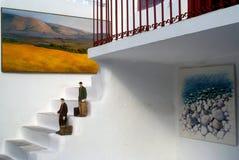 Grieks kunstwerk Royalty-vrije Stock Foto's