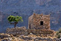 Grieks landschap stock afbeelding