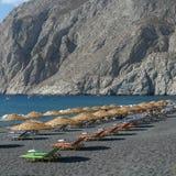 Grieks strand Stock Afbeelding