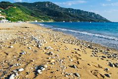 Grieks Strand Royalty-vrije Stock Foto's