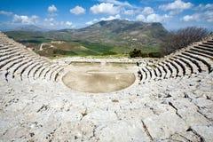 Grieks theater Stock Afbeeldingen