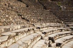 Grieks Theater in Ephesus Royalty-vrije Stock Afbeeldingen