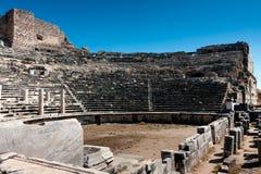 Grieks theater Miletus royalty-vrije stock afbeeldingen