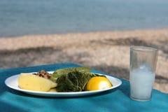 Grieks voedsel Royalty-vrije Stock Fotografie