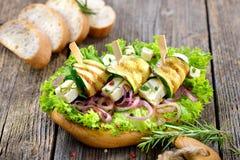Grieks voedsel royalty-vrije stock afbeeldingen