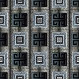 Grieks zeer belangrijk meander naadloos patroon vector illustratie