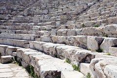 Griekse amphitheatre Royalty-vrije Stock Fotografie