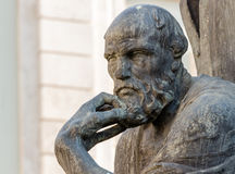 Griekse beroemde filosoof Royalty-vrije Stock Foto
