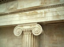 Griekse Collumn Royalty-vrije Stock Foto