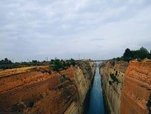 Griekse dam stock fotografie