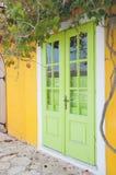 Griekse deur Royalty-vrije Stock Fotografie