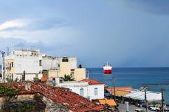 Griekse eilandaegina Royalty-vrije Stock Foto
