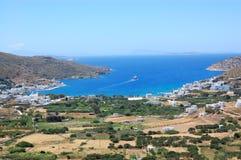 Griekse eilanden, amorgos stock fotografie