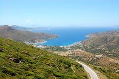 Griekse eilanden, amorgos royalty-vrije stock foto