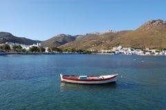 Griekse eilanden, amorgos stock afbeeldingen