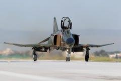 Griekse F-4 Spookvechtersstraal Stock Foto's