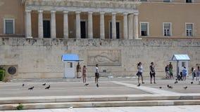Griekse het Parlement Wacht royalty-vrije stock fotografie