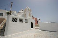 Griekse huizen Royalty-vrije Stock Afbeelding