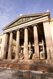 Griekse Ionische Kolom royalty-vrije stock foto's